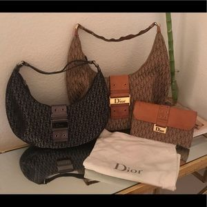 Christian Dior purse & wallet set. And small purse